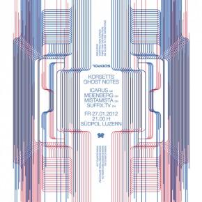GHOSTNOTES: ICARUS (UK), MEIENBERG (CH) | 27.01.2012