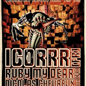11.05.2013   AUDITORY CORTEX 2: Igorrr (FR)   Ruby My Dear (FR) Somtek (CH) u.v.m
